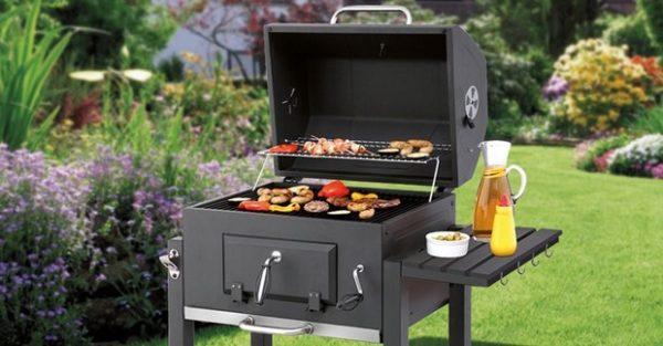 Tepro Toronto Holzkohlegrill Kaufen : Barbecue smoker tepro toronto einbrennen holzkohlegriller