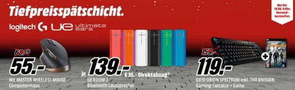Logitech-Tiefpreisspätschicht