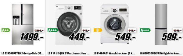 Waschmaschinen-Angebot