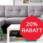 Endet heute: 20% auf Möbel & Co.