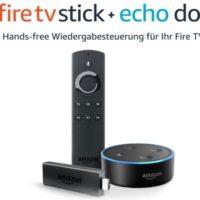 Fire TV Stick mit Alexa Sprachfernbedienung und Echo Dot Amazon.de  3