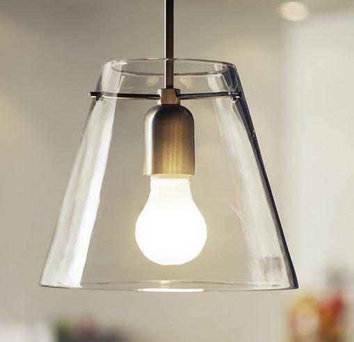reduzierte lampen glas pendelleuchte modern. Black Bedroom Furniture Sets. Home Design Ideas