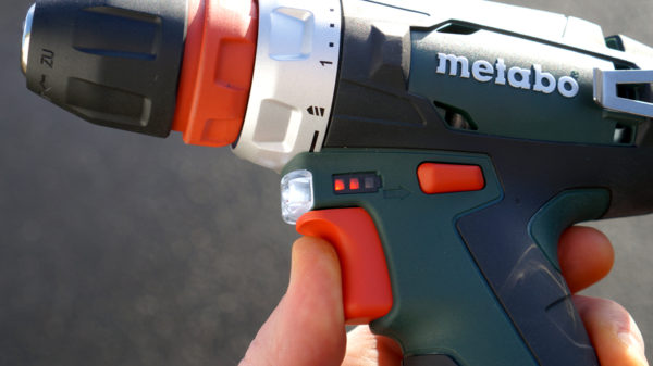 metabo powermaxx bs trigger battery indicator