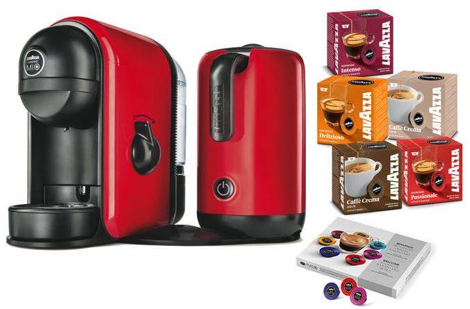 2016-07-27 15_34_21-Lavazza LM600 Minu Caffè Latte, Kaffeekapselmaschine mit Milchaufschäumer, Rot,