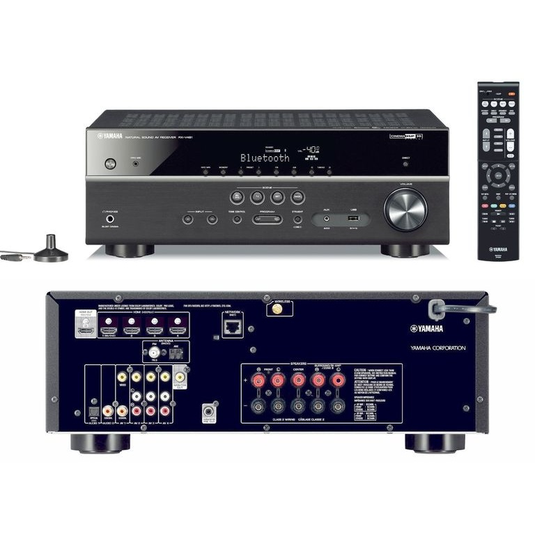 yamaha rx v481 av receiver mytopdeals. Black Bedroom Furniture Sets. Home Design Ideas