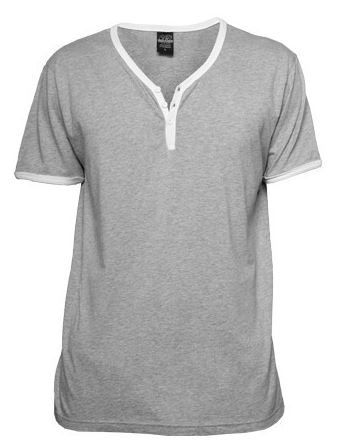 2016-08-30 10_32_19-Urban Classics Contrast Henley Y-neck Tee Herren T-shirt Grau Weiß 68633 bei Hoo