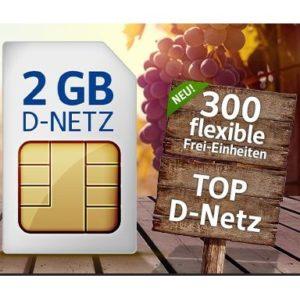 [TOP] 1&1 Flats mit 2GB bis 4GB