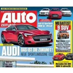 "Gratis: Jahresabo ""Auto Zeitung"""