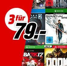 Tipp: Drei Spiele für nur 79€