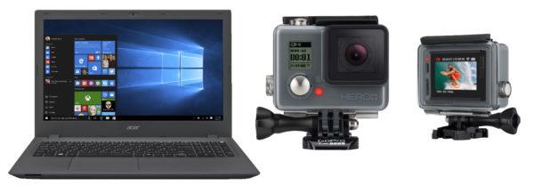 GOPRO-Hero--LCD-Actioncam--WLAN--Schwarz