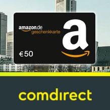 [Knaller] Comdirect Depot mit 50€ Prämie (Schufa-frei)
