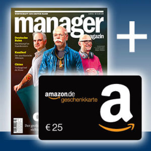 Bonus-Deal: 3x Manager Magazin