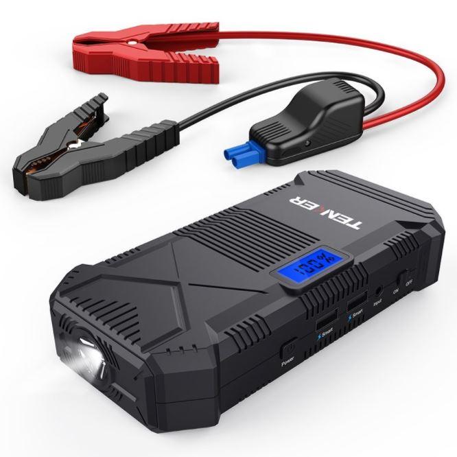 TENKER 600A 14000mAh Tragbare Auto Starthilfe Power Pack