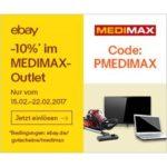 10% auf alles im Medimax Outlet