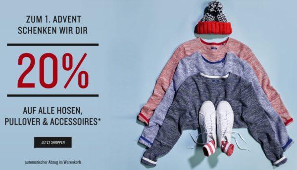 2017 11 30 11 46 15 TOM TAILOR E Shop  20 Prozent auf Pullis Hosen usw