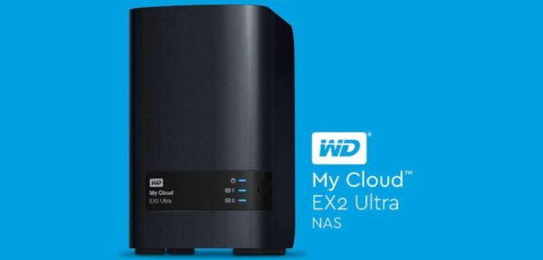 WD My Cloud EX2 Ultra Header