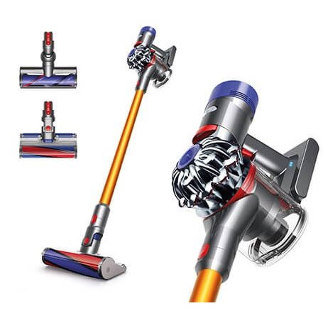 dyson v8 absolute kabelloser staubsauger mit versch aufs tzen mytopdeals. Black Bedroom Furniture Sets. Home Design Ideas