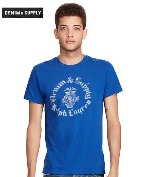 Grafik T Shirt aus Baumwolljersey T Shirts Herren Ralph Lauren Deutschland 1