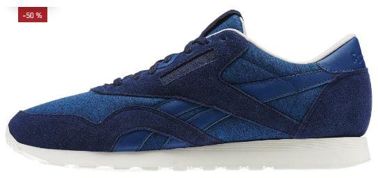 Reebok Classic Nylon Jersey Pack Blau