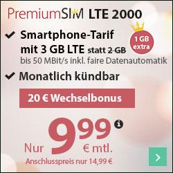 [Knaller] O2 Allnet-Flat + 3GB / 4GB LTE + EU-Flat (mtl. kündbar)