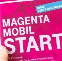 Prepaid D1: Magenta Mobil Start Tarife inkl. LTE und HotSpot-Flat