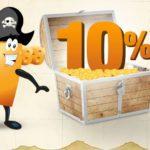 Nur heute: 10%/10€ Rabatt bei Plus
