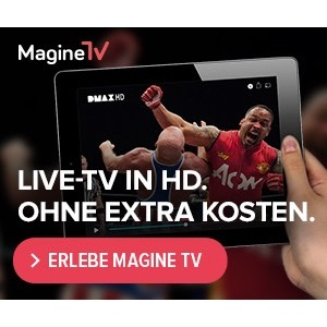 [TOP] DVB-T Alternative: 3 Monate Magine TV für nur 6,99€