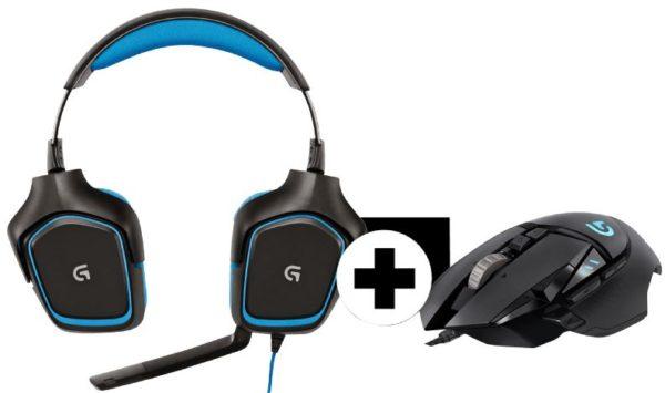 LOGITECH G430 G502 Gaming Maus x