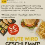 5 Euro Rabatt für Pizza.de