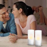 Philips LED Dekoleuchte Kerze LED Candle Lights 12er Set 6913360PH