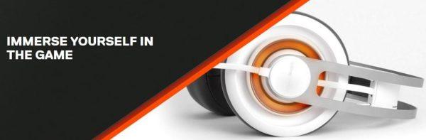 SteelSeries Siberia 650 Gaming Headset weiss x