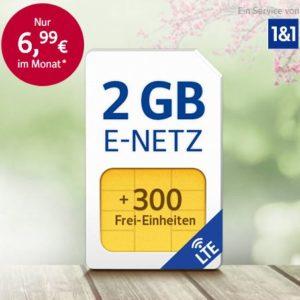 [TOP] 1&1 Flats mit 2GB bis 4GB (D2 mit UMTS / o2 mit LTE)