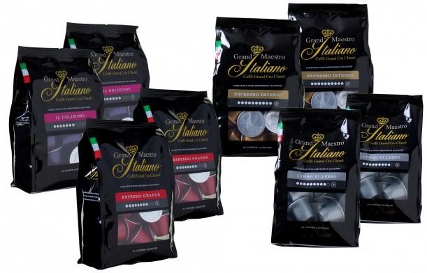 proefpakket capsules grand maestro italiano 2