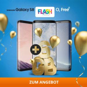 Tipp: o2 Free M (Allnet-Flat + 6GB LTE) + Samsung Galaxy S8