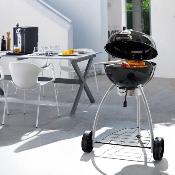 r sle holzkohle kugelgrill belly f50 no 1 mit deckelscharnier mytopdeals. Black Bedroom Furniture Sets. Home Design Ideas