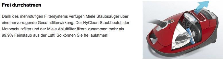 Miele C1 Twister EcoLine Bodenstaubsauger