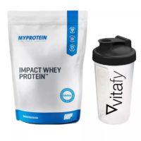 Myprotein Impact Whey Protein 2500g Vitafy Essentials Shaker 600ml gratis