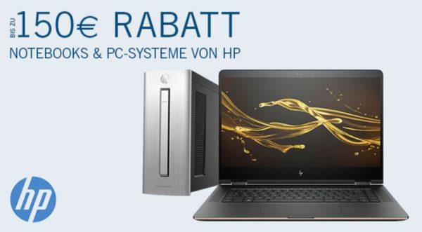 Notebooks PCs von HP mit Rabatt