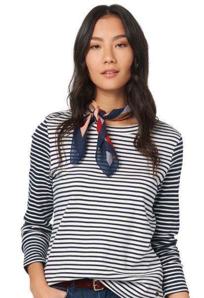 Shirt mit Streifen perfect stripe mix shirt von TOM TAILOR 2