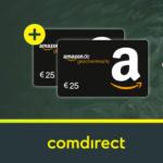 Bis zu 150€ Prämie + 2x 25€ Amazon.de Gutschein für das kostenlose comdirect Girokonto