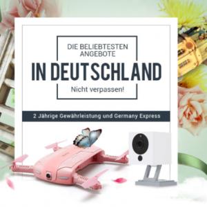 Info: GearBest mit deutscher Seite