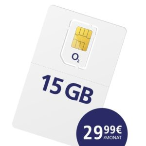[TOP] o2 free Aktion: Allnet-Flat + SMS-Flat + 15GB LTE