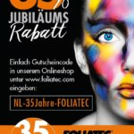 Folia Tec Newsletter 35%Rabatt