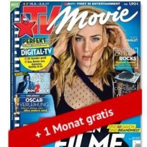 """Eff. gratis: Jahresabo """"TV Movie"""""""