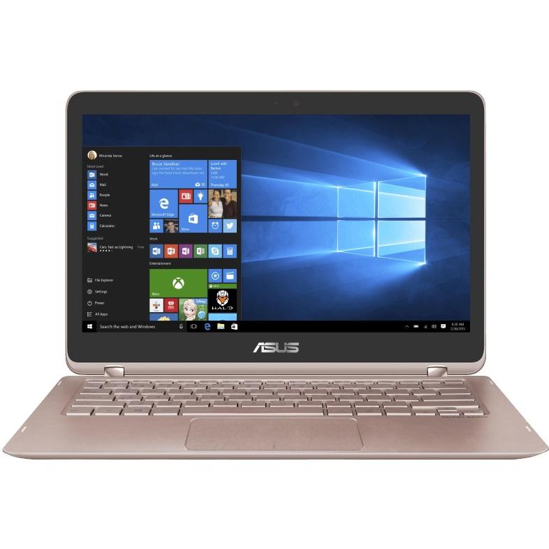 ASUS UX360UAK BB354T Convertible mit 13.3 Zoll Display Core™ i5 Prozessor 8 GB RAM 256 GB SSD HD Grafik 620 Gold