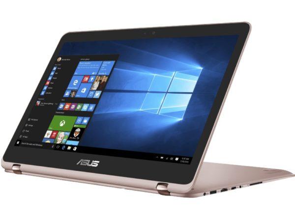 ASUS UX360UAK BB354T Convertible mit 13.3 Zoll Display Core™ i5 Prozessor 8 GB RAM 256 GB SSD HD Grafik 620 Gold222