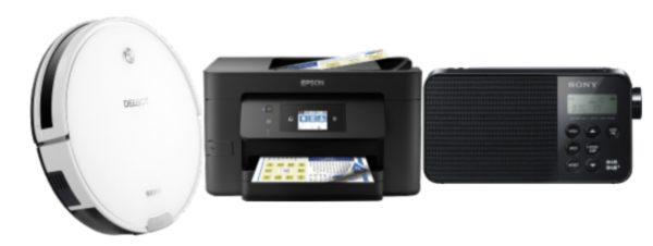 Ecovacs Epson Sony
