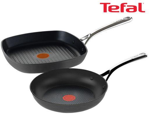 Tefal Reserve Collection Pfannenset   Grill und Bratpfanne