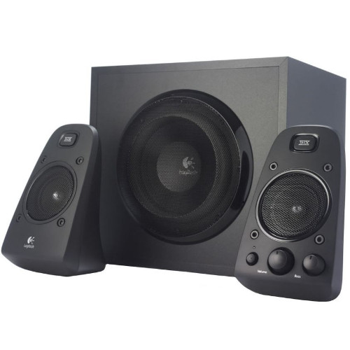 logitech z623 2 1 system mit satelliten subwoofer. Black Bedroom Furniture Sets. Home Design Ideas