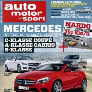 [TOP] Div. Jahresabos mit erhöhter Prämie, z.B. die Auto Motor Sport